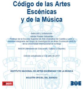 Código de las Artes Escénicas y de la Música