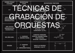 Técnica de de grabación orquestales.