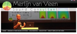 Medidas de sonido y trucos de Merlijn van Veen.