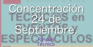Concentración 24 de Septiembre.